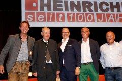 Rupert Hallinger, BM Ing. Anton Posch sen., Hotelier Wolfgang Burgschwaiger, Manfred Klausner, Rupert Sendlhofer