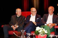 BM Ing. Anton Posch sen., Hotelier Wolfgang Burgschwaiger, Manfred Klausner
