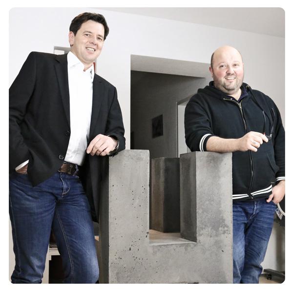 Geschäftsführer Egger und Posch